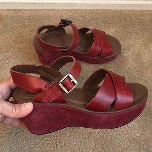 Kork-Ease Ava Wedge Platform Sandals